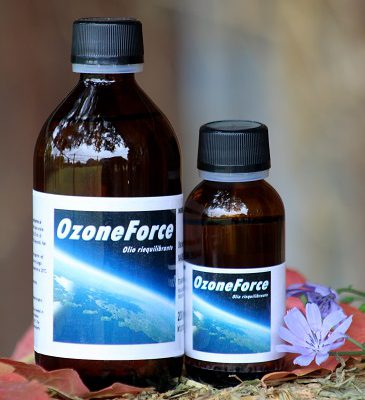 Pure ozone oil for horses